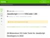 JavaScript開発者のための優秀なVSCodeツール26選 - Qiita