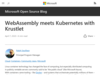 WebAssembly meets Kubernetes with Krustlet - Open Source Blog