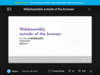 WebAssembly outside of the browser - Speaker Deck